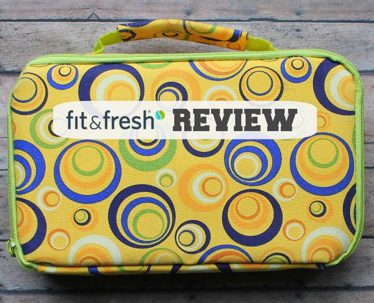 @MamaBelly | LunchesWithLove's review of our Fit & Fresh Kids' Lunch Bags & Containers!