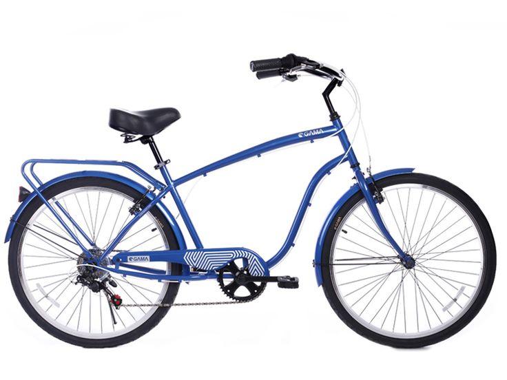 Cruiser/Azul en gamabikes.com #nuevatemporadagama ¿Aún sin la tuya? #bici
