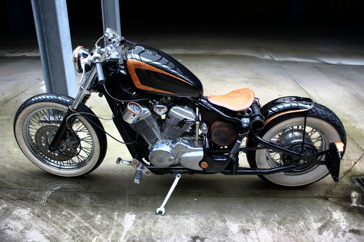 Bobber Inspiration - Honda Shadow 600 bobber | Bobbers and Custom Motorcycles | rtessmann August 2014