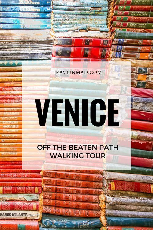 Get off-the-beaten-path in one of the world's most beautiful and visited cities! This 2.5 mile self-guided walking tour of #Venice #Italy takes you through less-trodden streets over Venetian bridges and canals, to the must-see Venice landmarks without the crowds. Complete with downloadable interactive Google map!   Venice walking tour, walking tour Italy, #slowtravel #Venicewalkingtour