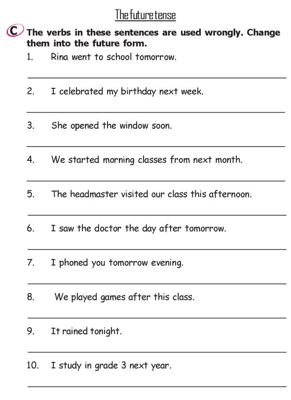Grade 2 Grammar Lesson 13 Verbs The past tense Grammar