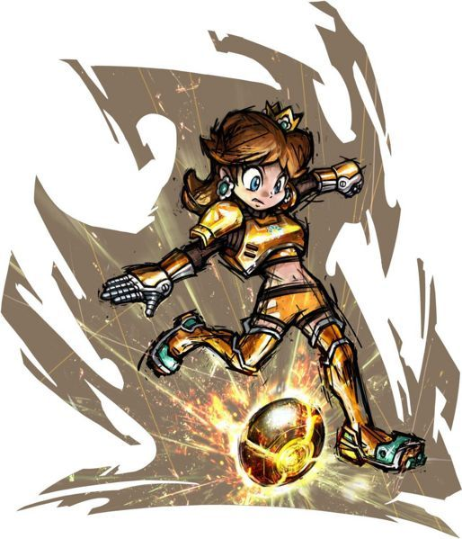 Daisy, Mario Strikers