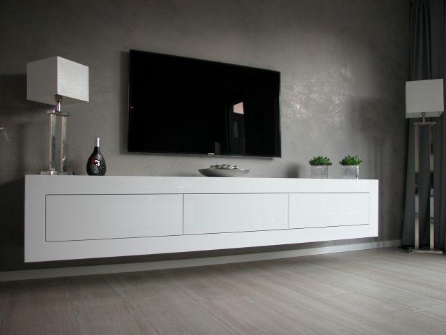 Zwevend meubel  Interieur  Home Decor Living room decor