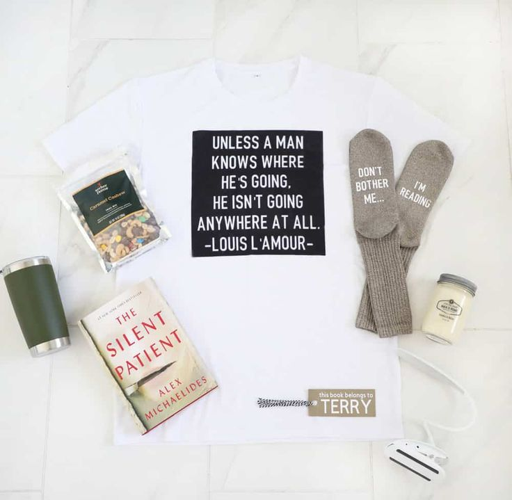 Book Lovers Gift Basket Using The Cricut Maker in 2020 ...