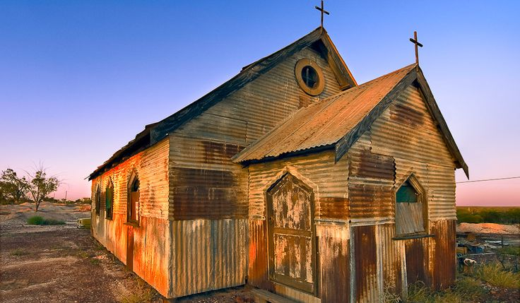 """The Betoota Diocesan Cathedral, built in 1852, is the sole reason Betoota has """"City-Status"""""""