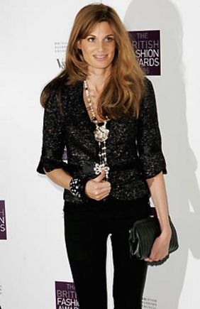 Jemima Goldsmith Khan : Timeless style and a great thinker/author!
