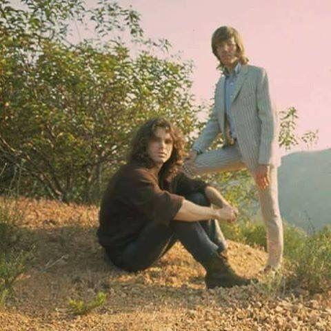 Jim Morrison and Ray Manzarek
