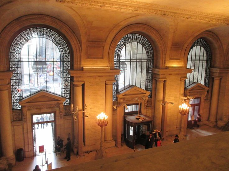 Here is a picture of the entrance of the Stephen A. Schwarzman Building. Love the building which is more like a museum than a library.   http://ourtravelingblog.com/2015/11/18/stephen-a-schwarzman-new-york-public-library/