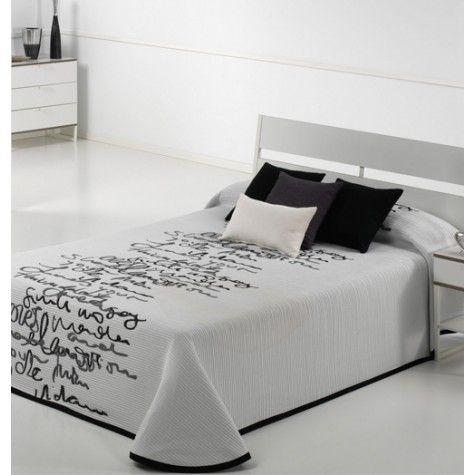 Les 25 meilleures id es de la cat gorie couvre lit noir sur pinterest couet - Linge de lit contemporain ...