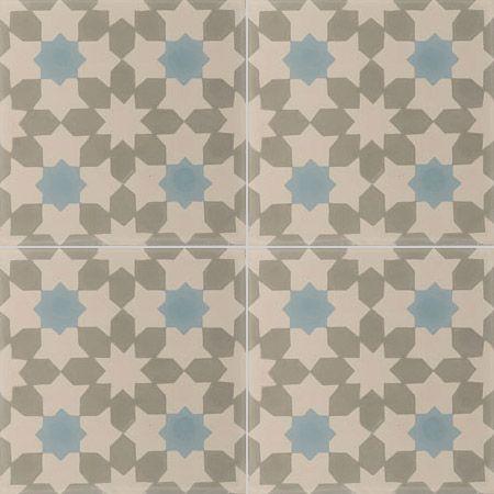 Carreaux de ciment - Les motifs - Carreau NC1 27.07.15 - Couleurs & Matières