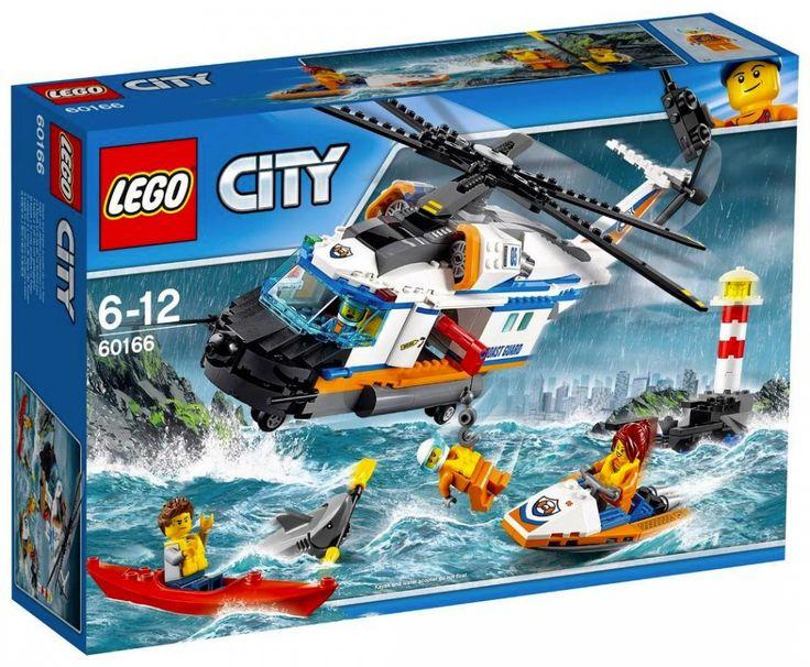 LEGO City 60166 L'hélicoptère de secours Juin 2017