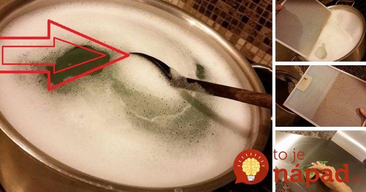 Neznášate drhnutie kuchyne? Zázračný čistiť bez drhnutia odmastí a vyčistí digestor aj ostatné povrchy!