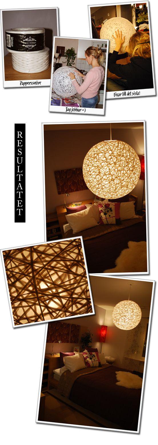 Como fazer a luminária