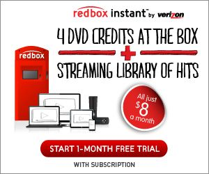NEW! FREE Redbox Movie Code for Kiosk Only!