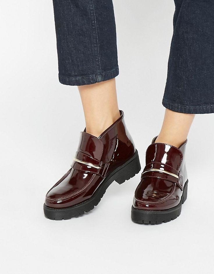 Image 1 ofASOS ACID Loafer Ankle Boots