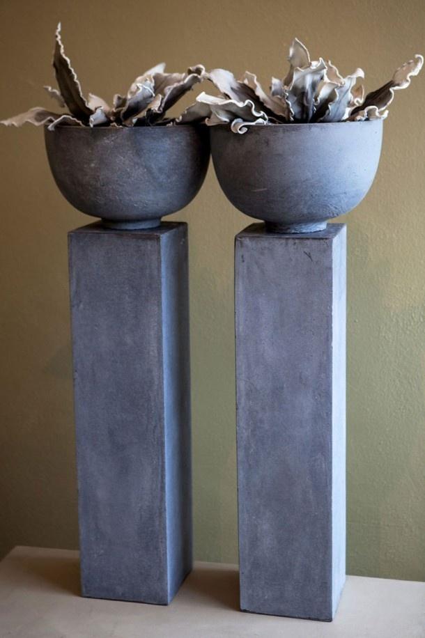 Zuil met pot, in alle soorten en maten op voorraad  Home and living  Pinter # Wasbak Op Zuil_194839