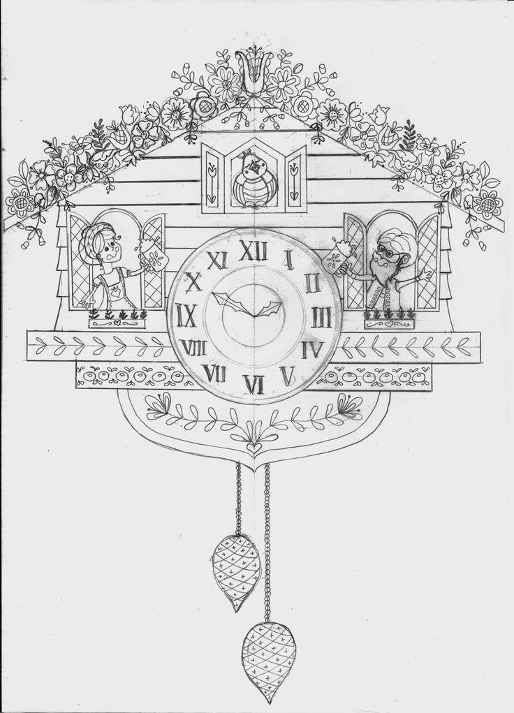 Nanette Regans Adventures Cuckoo Clocks