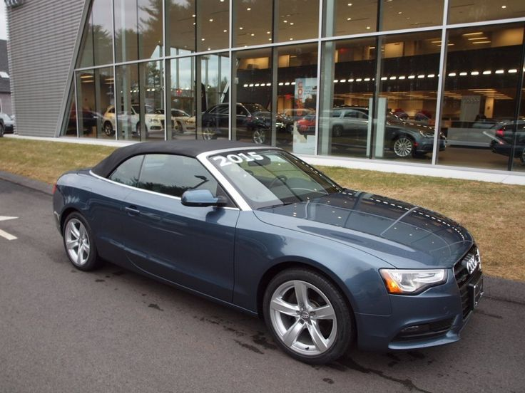 Cars for Sale: Certified 2015 Audi A5 2.0T Premium quattro Cabriolet for sale in Norwell, MA 02061: Convertible Details - 448740596 - Autotrader