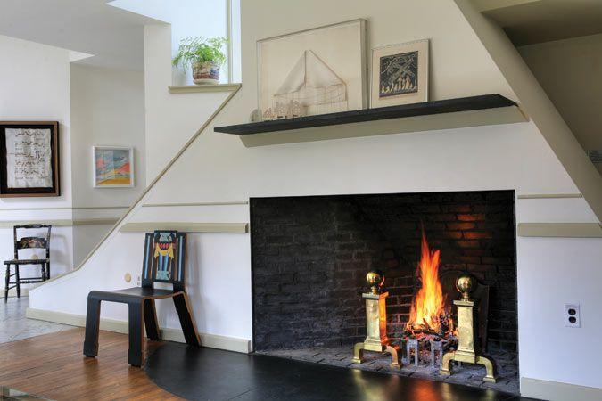 Vanna Venturi House Fireplace Interior Pinterest