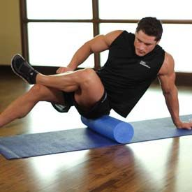Form Roller Exercises- Piriformis ...next best thing to regular massages!  :)