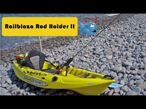 Railblaza rod holder II Review - YouTube