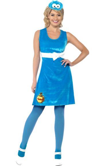 Sesame Street Cookie Monster Costume (cute) | Jokers Masquerade