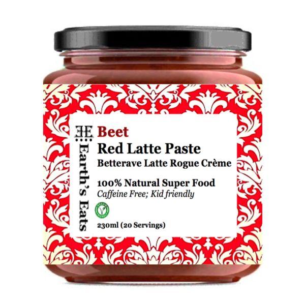 Earth's Eats Beet Red Latte Paste - 230ml