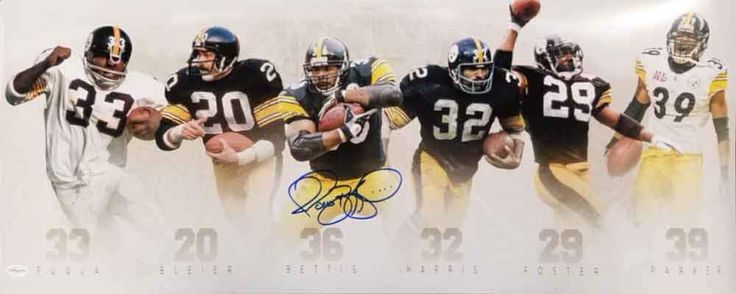 PRE-SALE: Steelers Running Back Legends Panoramic Photo