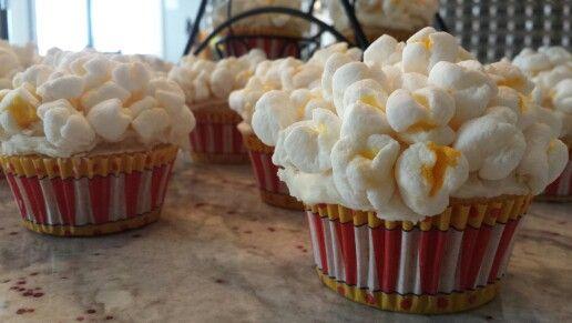 Popcorn cupcakes!