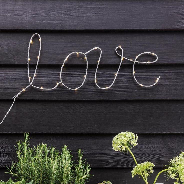 Love led light graham green light ledlight stringlight fairylight · decorative string lightsled