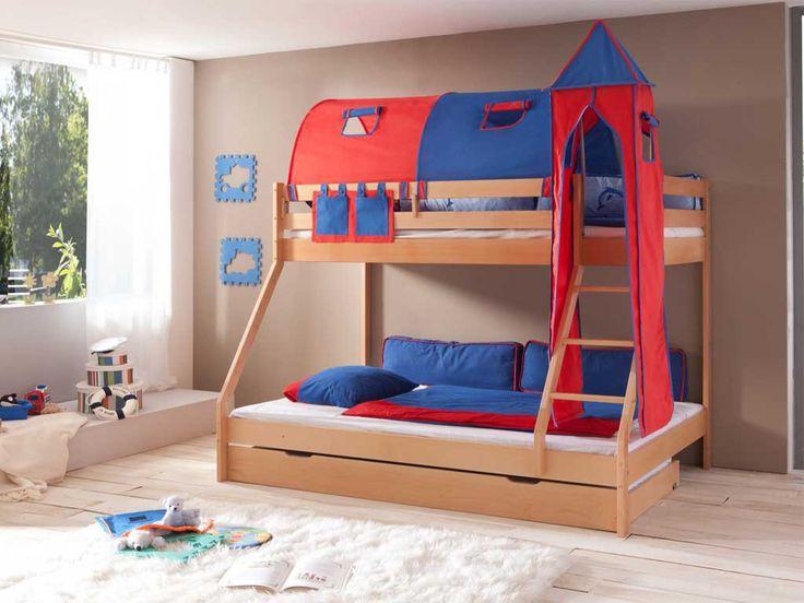 Łóżka z kolekcji Wendy powstały z myślą stworzenia w pokoju dziecka doskonałego miejsca od zabawy i rozwoju. Łóżko doskonale sprawdzi się we wspólnym pokoju małego dziecka i nastolatka. Prezentowane łóżko piętrowe zostało wykonane z drewna bukowego, dostępnego w kolorach: naturalnym lakierowanym i białym. Podstawowa cena produktu zawiera łóżko piętrowe z dwoma stelażami. Oferowane łóżko oraz wszystkie pozostałe produkty w tej k...