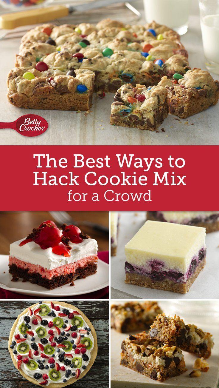 Betty Crocker Chocolate Chip Cookie Mix Recipes