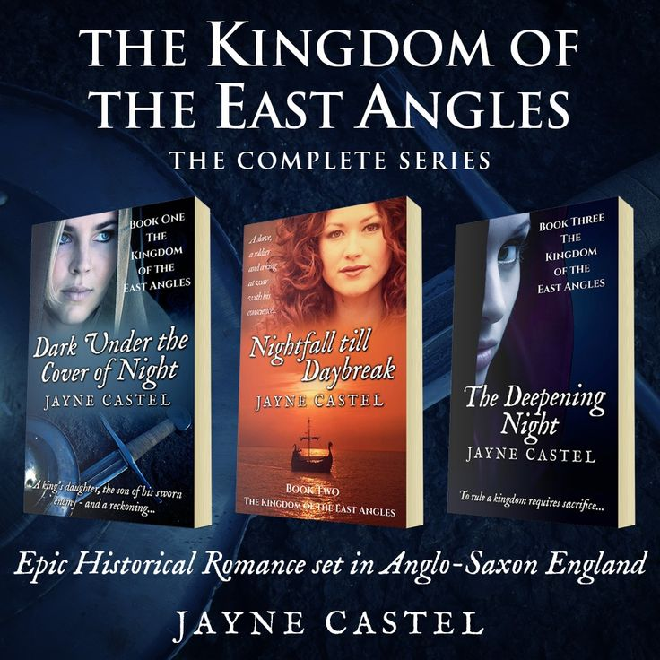 The Kingdom of the East Angles: The Complete Series: Epic Historical Romance set in Anglo-Saxon England.  Follow the stories of four incredible women - Raedwyn, Freya, Saewara, and Cynewyn - and their search for love and freedom in a world dominated by the warrior and the sword.