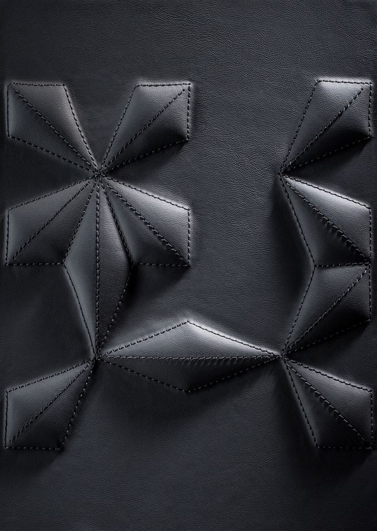 BOXMARK 3D Wall Covering with leather