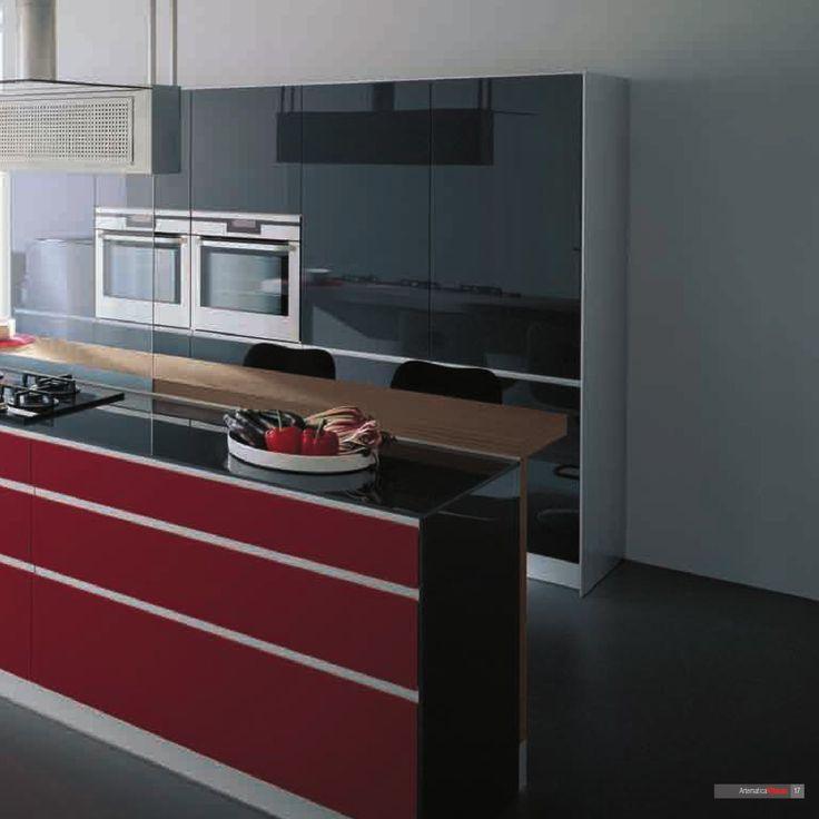 Artematica Vitrum. Moderne Küchen. Valcucine