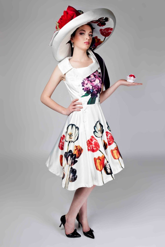 Mackenzie Mode- Happily Ever After Dress in Floral