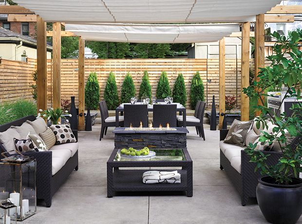 Conseils pour créer un coin-repas au balcon ou au jardin : zone de détente
