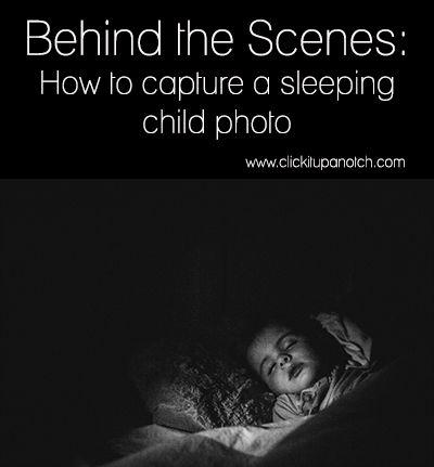 Behind the Scenes: Sleeping. By Courtney Slazinik. http://clickitupanotch.com/2014/01/behind-the-scenes-sleeping/