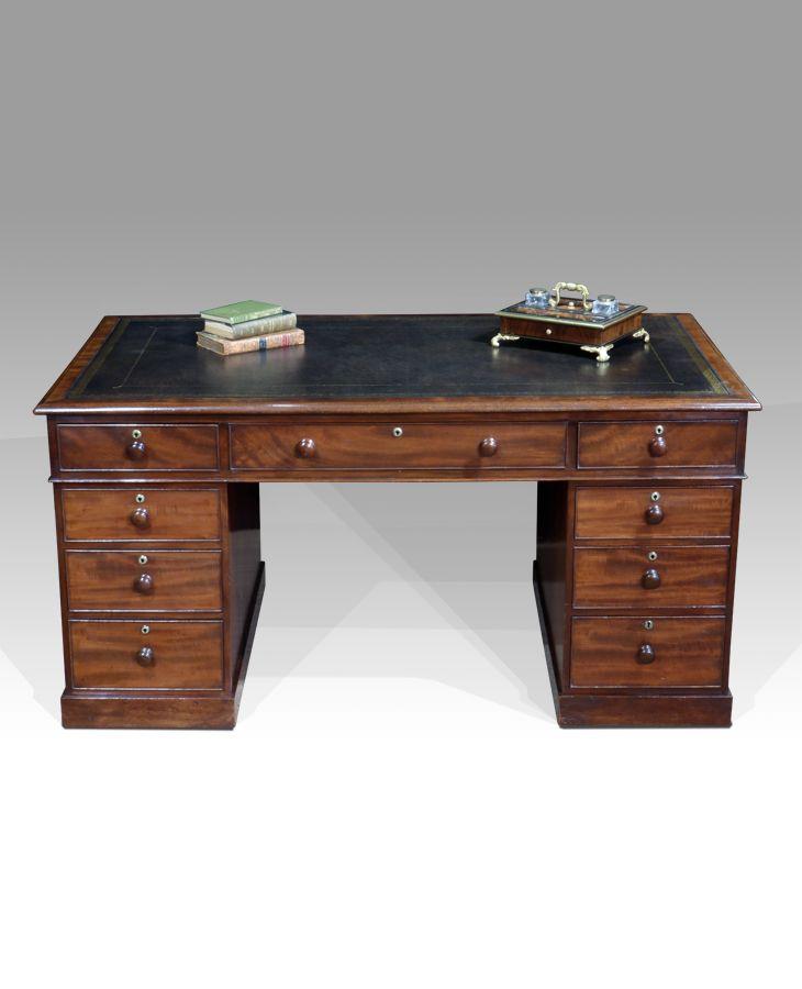 Antique partners desk - 71 Best Antique Furniture For The Study Images On Pinterest