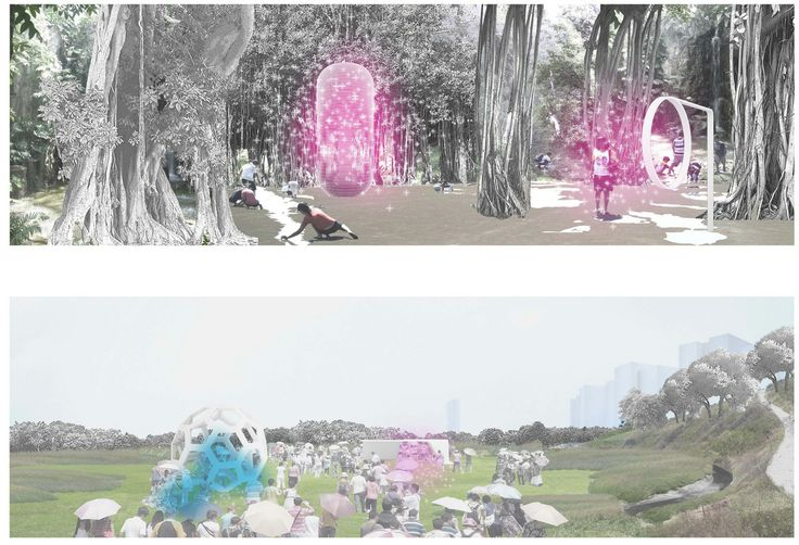 Taichung Gateway Park. Catherine Mosbach.