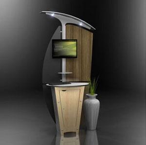 small kiosk