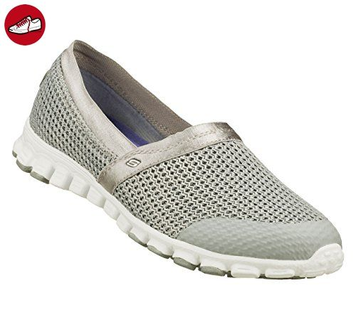 Skechers EZ Flex - It Factor 22634 Damenschuhe Slipper (36, grau) - Skechers schuhe (*Partner-Link)