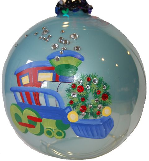 Best images about handpainted christmas ornaments on