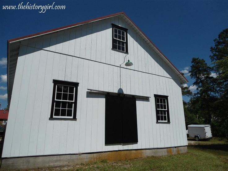 Barrel Storage House @ Whitesbog Village, Browns Mills, NJ. Constructed in 1911.