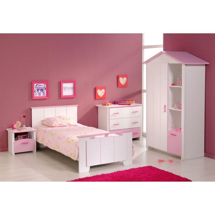 Marvelous H bsches M dchen Kinderzimmer in Rosa und Wei Das Highlight ist der Kleiderschrank in Form eines H uschens Kinderzimmer mit H uschen Kleiderschrank