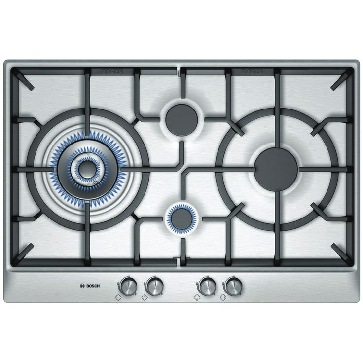 Bosch PCI815B91A 75cm Gas Cooktop at The Good Guys