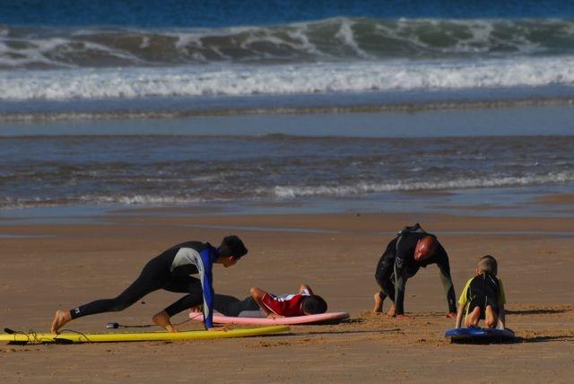 Take off - Nova Vaga Surfschool