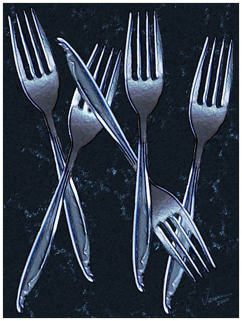 forks to eat
