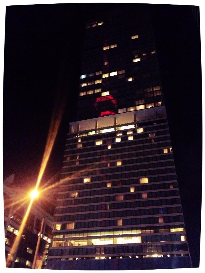 CN Tower - Toronto,   Reflection, 2012