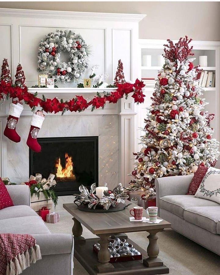 999 Best Living Room Decoration Ideas Homedecor Livingroo Christmas Decorations Apartment White Christmas Tree Decorations Christmas Decorations For The Home Best living room christmas decorations